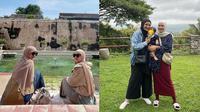 Momen Kebersamaan Shireen Zungkar dan Zaskia Mecca di Jogja. (Sumber: Instagram.com/zaskiadyamecca)
