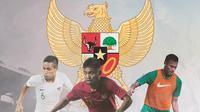 Timnas Indonesia - Evan Dimas, Saddil Ramdani, Andy Setyo (Bola.com/Adreanus Titus)