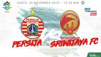 Liga 1 2018 Persija Jakarta Vs Sriwijaya FC (Bola.com/Adreanus Titus)