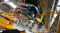 Pabrik Sokon ini dirancang untuk memproduksi mobil sport utility vehicle (SUV), multi purpose vehicle (MPV), serta kendaraan niaga ringan.(Herdi/Liputan6.com)