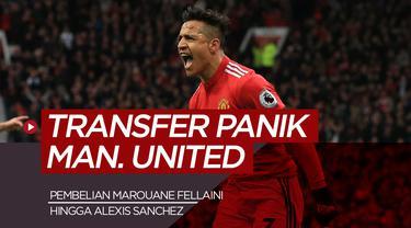 Transfer Panik Manchester United. (Bola.com/Dody Iryawan)