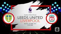 Leeds United vs Liverpool (liputan6.com/Abdillah)