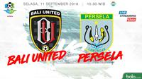 Jadwal Liga 1 2018, Bali United vs Persela Lamongan. (Bola.com/Dody Iryawan)
