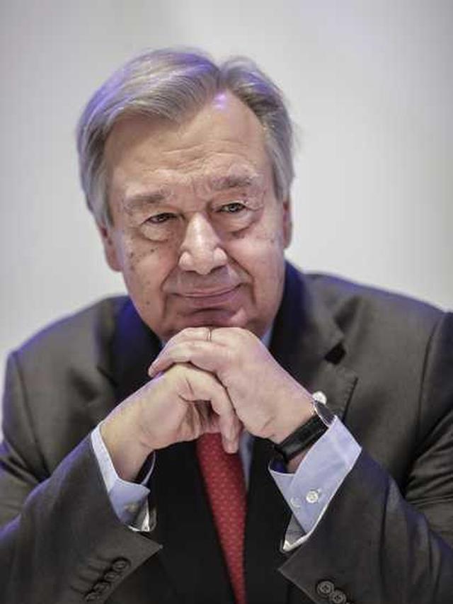 Sekretaris Jenderal AS, Antonio Guterres.