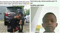 Caption Postingan Bocah Bucin di Media Sosial Ini Kocak Banget (sumber:Instagram/guyonankekinian dan awreceh.id)
