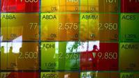 Indeks Harga Saham Gabungan (IHSG) ditutup melemah 70,57 poin ke level 4.805,61 pada perdagangan saham Selasa (18/3/2014).