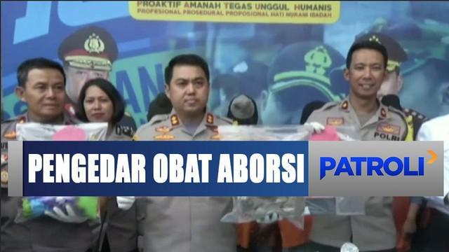 Polres Malang berhasil menangkap lima pengedar obat penggugur janin di Malang Kota, Jawa Timur.