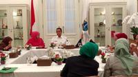 Yenny Wahid dan Khofifah menemui Anies Baswedan di Balai Kota DKI.