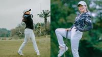 Potret Gaya Sporty Amel Carla Saat Main Golf, Tampil Stylish. (Sumber: Instagram/amelcarla)
