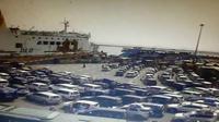 Situasi kepadatan di Pelabuhan Merak, Kamis (30/5/2019). (foto: akun twitter @TMCPoldaMetro)