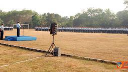 Tiga satuan TNI AU Kalijati mengadakan Upacara Bendera bersama Bulan.