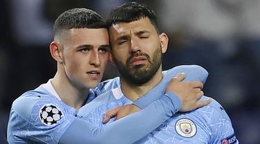 FOTO: Reaksi Skuat Manchester City Usai Gagal Menjuarai Liga Champions