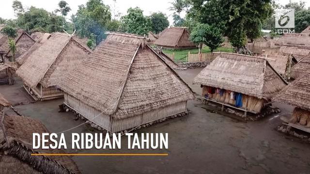Ini adalah sebuah perkampungan rumah adat dusun Dasan Bleq, yang terletak di Desa Gumantar, Kecamatan Kayangan, Kabupaten Lombok Utara