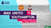 Premier League: Manchester United Vs Southampton (Bola.com/Adreanus Titus)