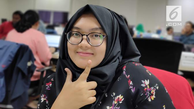 Hasil foto selfie dari kamera Realme 5 Pro (Liputan6.com/Iskandar)