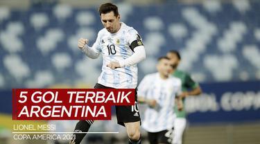 Berita Video, Deretan Gol Terbaik Argentina di Copa America 2021