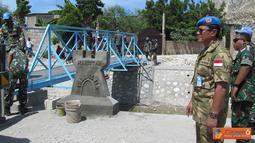 Citizen6, Haiti: Dengan terselesaikannya jembatan ini, sangat membantu rakyat setempat dalam hal transportasi sehingga keberadaan Pasukan Garuda di Haiti sangat memberikan arti bagi rakyat Haiti yang masih traumatik pasca Gempa 2010. (Pengirim: Badarudin