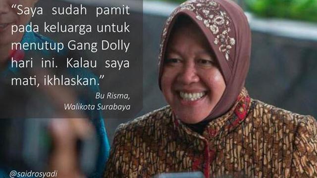 Tri Rismaharini, Sosok Pemimpin Wanita Inspiratif Yang Mampu Mengubah Surabaya