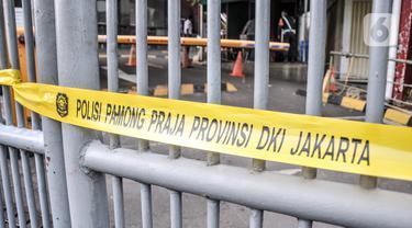 FOTO: Langgar PPKM Darurat, Plaza Kenari Mas Ditutup hingga 20 Juli