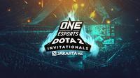 ONE Esports Dota 2 Jakarta Invitational di Indonesia Convention Exhibition (ICE BSD), Tangerang Selatan pada 18-19 April 2020.