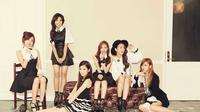 Keenam Personel Apink (ki-ka: Namjoo, Eunji, Chorong, Naeun, Bomi, Hayoung)