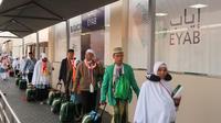 Jemaah haji akan kembali ke Indonesia melalui jalur Eyab. Darmawan/ MCH