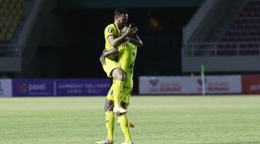 FOTO: 6 Gol Tercipta, Barito Putera Paksa PSIS Bermain Imbang 3-3 di Piala Menpora 2021 - Rizky Pora; Bissa Donald