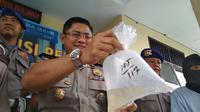 Ditpolairud Polda Jabar kembali menangkap pelaku penyelundupan satwa laut jenis Baby Lobster. Foto (Liputan6.com / Panji Prayitno)
