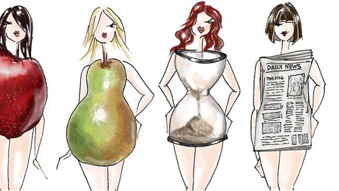 5 Tipe Bentuk Tubuh Wanita di Dunia Beauty Fimela