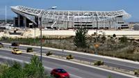 Markas baru Atletico Madrid, Stadion Wanda Metropolitano. (AFP/Gerard Julien)