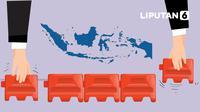 Banner Infografis Perbedaan Aturan PPKM Level 3 dan 4. (Liputan6.com/Abdillah)