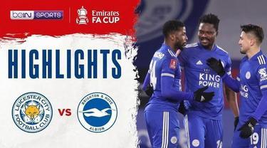 Berita Video highlights Piala FA, Leicester City menang tipis 1-0 atas Brighton