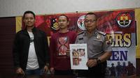 Kepolisian memastikan pria dalam video yang mengancakm penggal kepala Jokowi bukan Dheva Prayoga, warga Kebumen. (Foto: Liputan6.com/Polres Kebumen/Muhamad Ridlo)