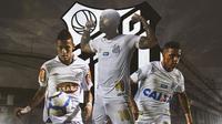 Santos FC - Neymar, Gabriel Barbosa, Rodrygo Goes (Bola.com/Adreanus Titus)