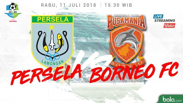 Persela Lamongan Vs Pusamania Borneo Fc