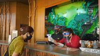 Hotel di Puncak Bogor mulai buka di masa pandemi Covid-19. (Achmad Sudarno/Liputan6.com)