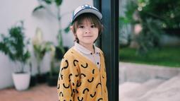 Anak laki-laki dari pasangan Ringgo Agus Rahman dan Sabai Dieter Morscheck ini bernama Bjorka Dieter Morscheck. Saat ini, Bjorka berusia baru tiga tahun. (Liputan6.com/IG/@sabaidieter)