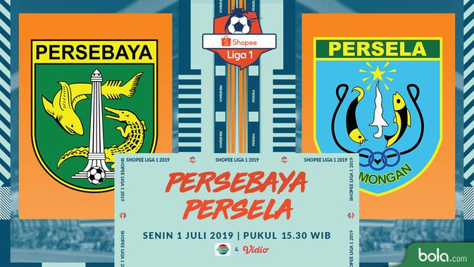 Saksikan Exclusive Live Streaming Indosiar Persebaya vs Persela di Shopee Liga 1 di Vidio Premier 3