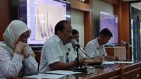 PVMBG umumkan penurunan status Gunung Tangkuban Parahu menjadi normal. (Liputan6.com/Huyogo Simbolon)