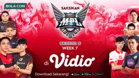 Saksikan Live Streaming Mobile Legend MPL Season 5 Hanya di Vidio. sumberfoto: Vidio