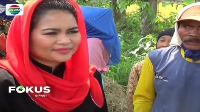 Cagub Jawa Timur  Khofifah Indar Parawansa berharap produk lokal mampu bersaing dengan impor. Sementara Cawagub Puti Guntur Soekarno berkunjung ke Ngawi untuk menemui sejumlah petani di sawah, apa janjinya?