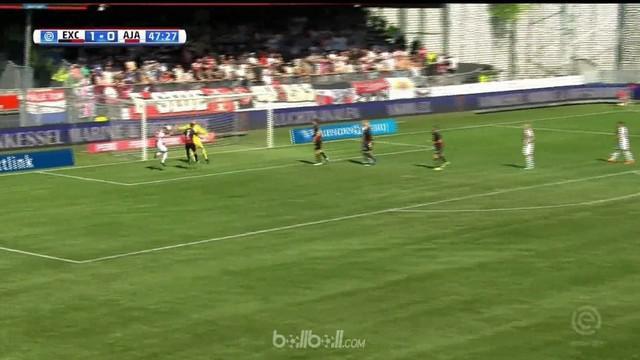 Anak Patrick Kluivert, Justin, tampil gemilang ketika memimpin Ajax Amsterdam membalikkan keadaan saat hadapi Excelsior. This video is presented by Ballball.