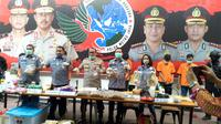 Polda Metro Jaya mengungkap kasus penjualan tembakau gorila. (Merdeka.com/ Nur Habibie)