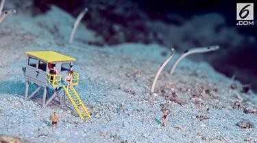 Sebanyak 80 adegan diperagakan Jason Isley di dasar laut.