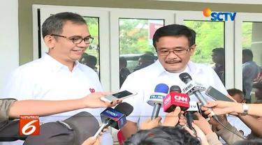 Menanggapi kemenagan ERAMAS berdasarkan hasil hitung cepat, Calon Gubernur Djarot Saiful Hidayat menyatakan akan menunggu hasil penghitungan resmi dari KPU.