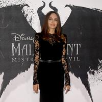 Angelina Jolie memakai dress Alexander McQuuen (Foto: Dok Alexander McQueen)