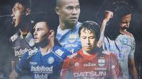 Piala Menpora - Pemain Persib Bandung Leg 1 Final (Bola.com/Adreanus TItus)