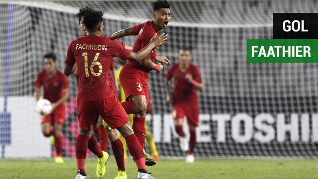 Berita video momen gol debut Alfath Faathier di Timnas Indonesia saat menang 3-1 atas Timor Leste pada laga kedua Piala AFF 2018.