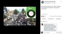 [Cek Fakta] Gambar Tangkapan Layar Video Konvoi Warga Suku Baduy Mengkuti Tradisi Seba