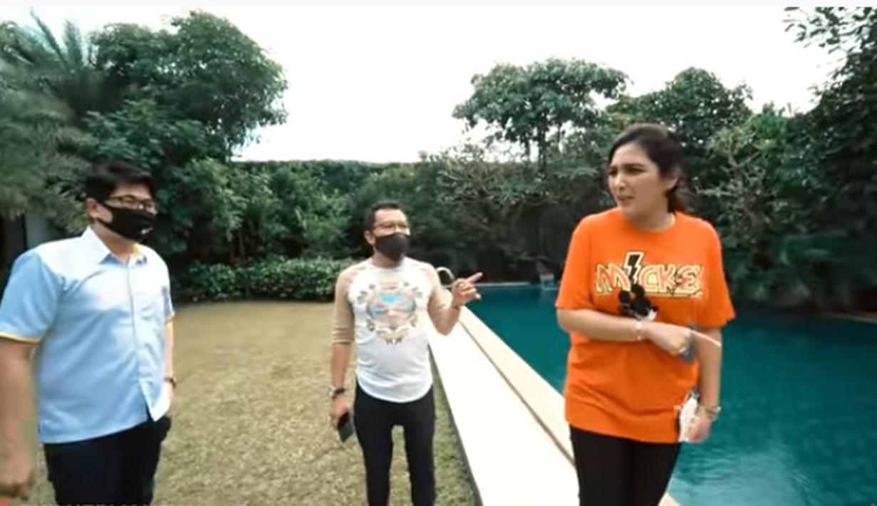 Anang Hermansyah dan Ashanty cari rumah. (Youtube/ The Hermansyah A6)